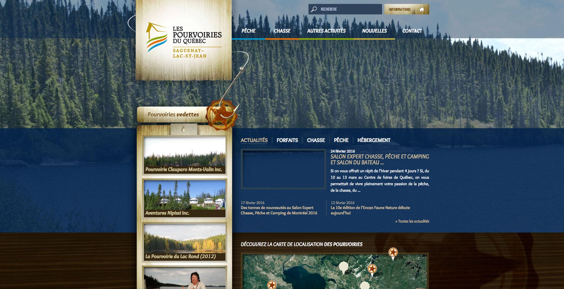 Pourvoiries Saguenay