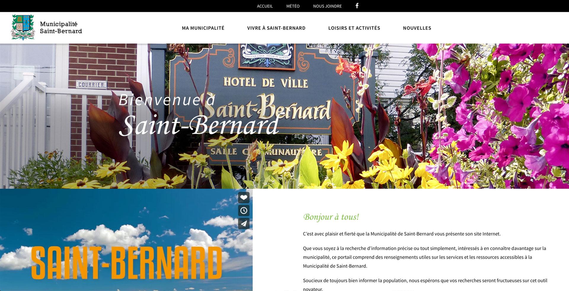 Municipalité Saint-Bernard