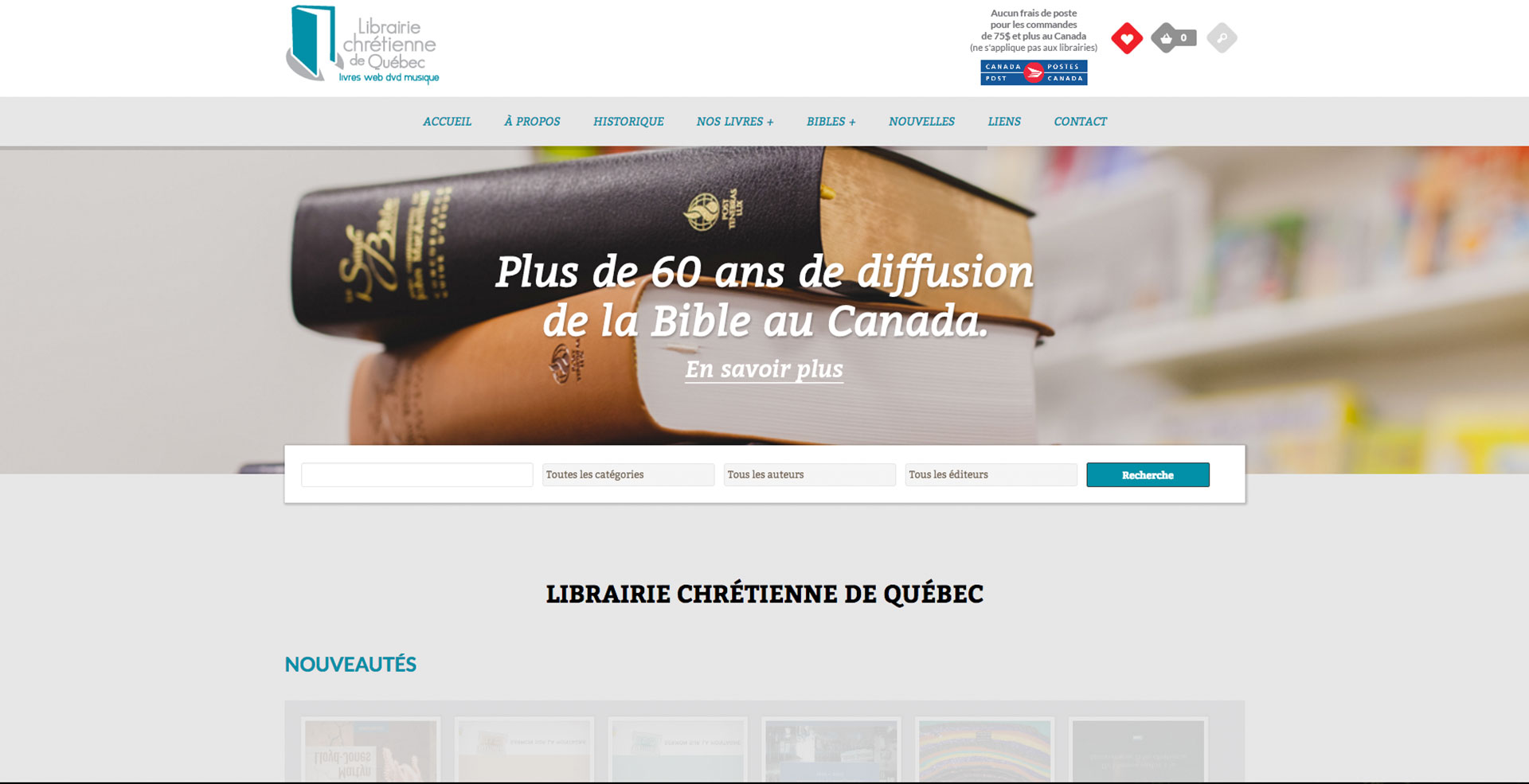 Librairie chrétienne de Québec