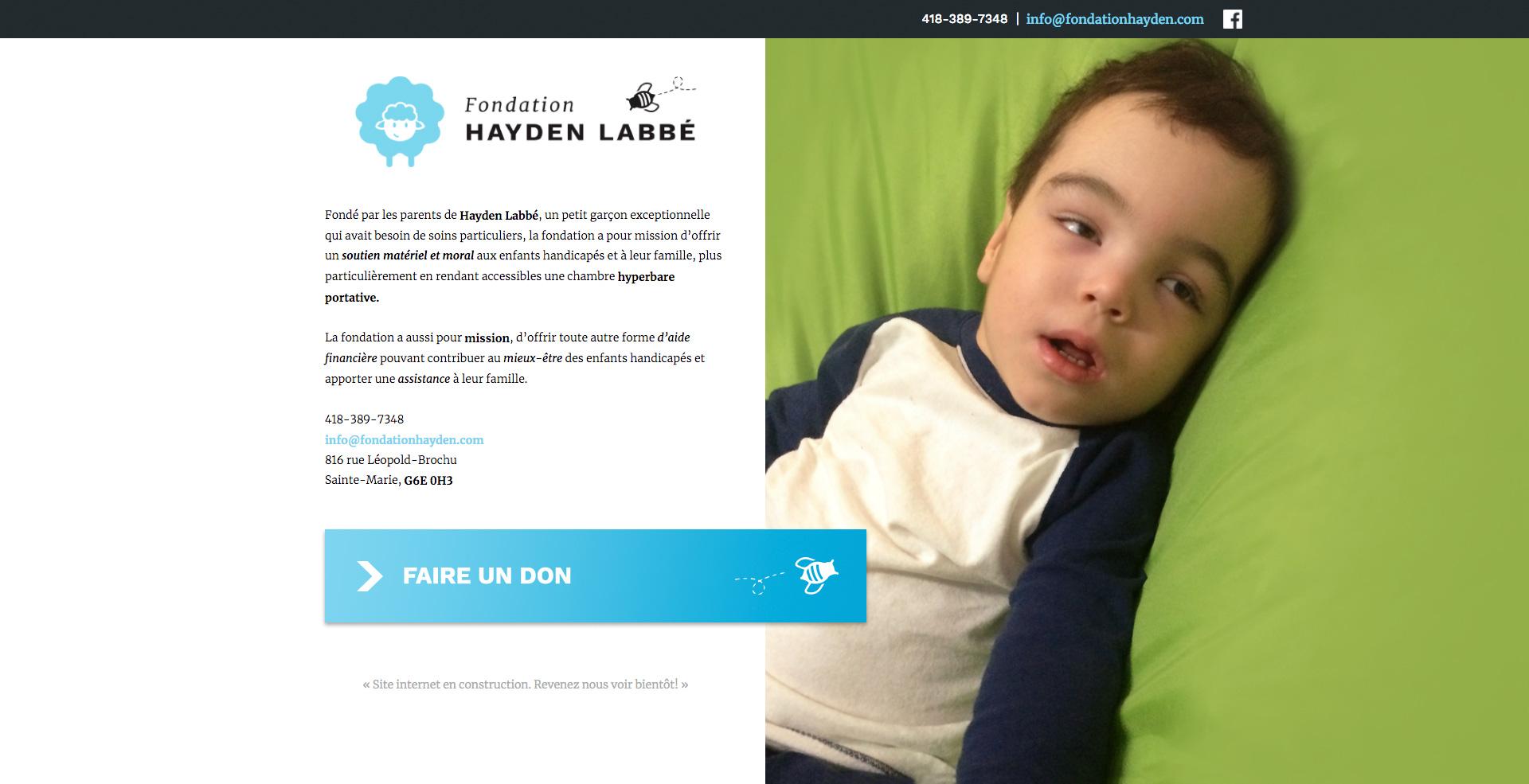 Fondation Hayden Labbé