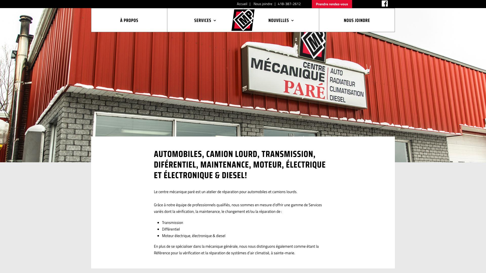 Centre Mécanique Paré