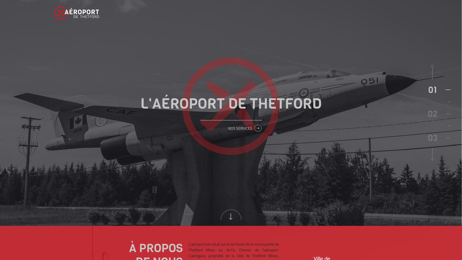 L'aéroport de Thetford