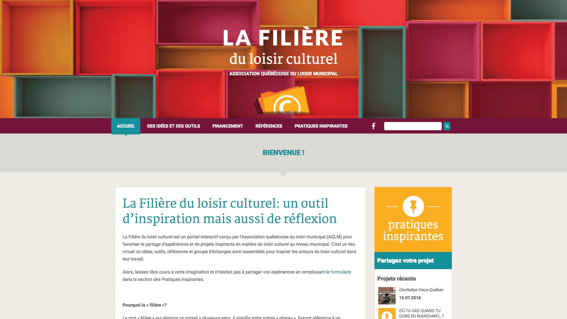 LA FILIÈRE du loisir culturel